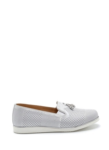Derimod Kadın Loafer (5005) Casual Beyaz